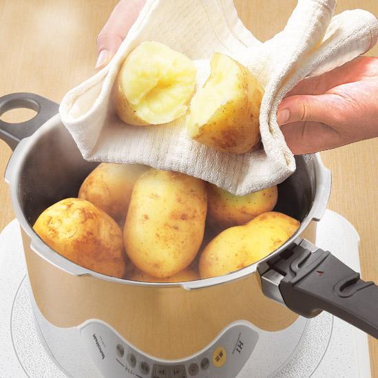 鍋 使い方 圧力 圧力鍋を蒸し器の代用に!上手に圧力鍋で蒸す使い方を解説!